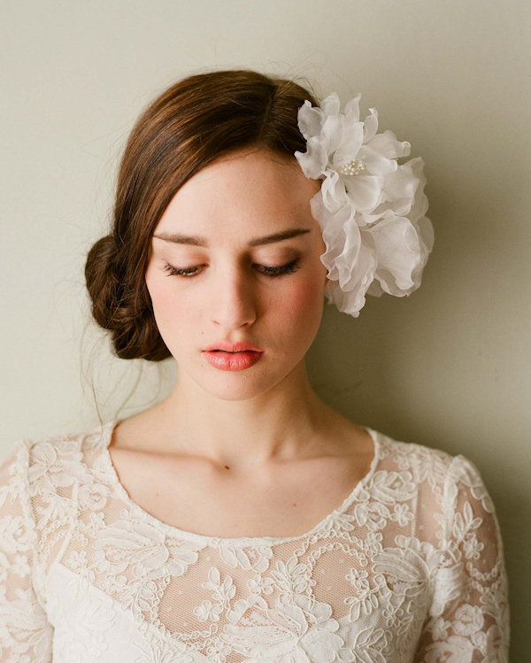 Bridal Flower Headpiece