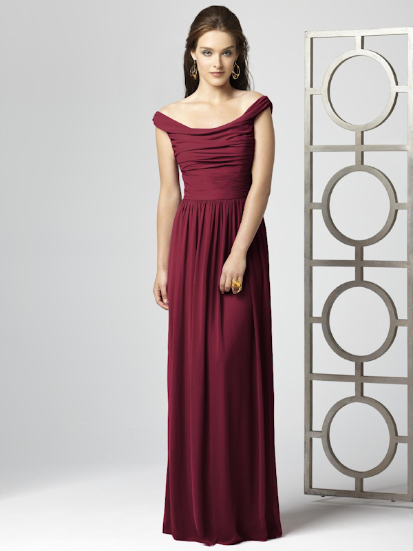 Burgundy Bridesmaid Dresses - Bitsy Bride