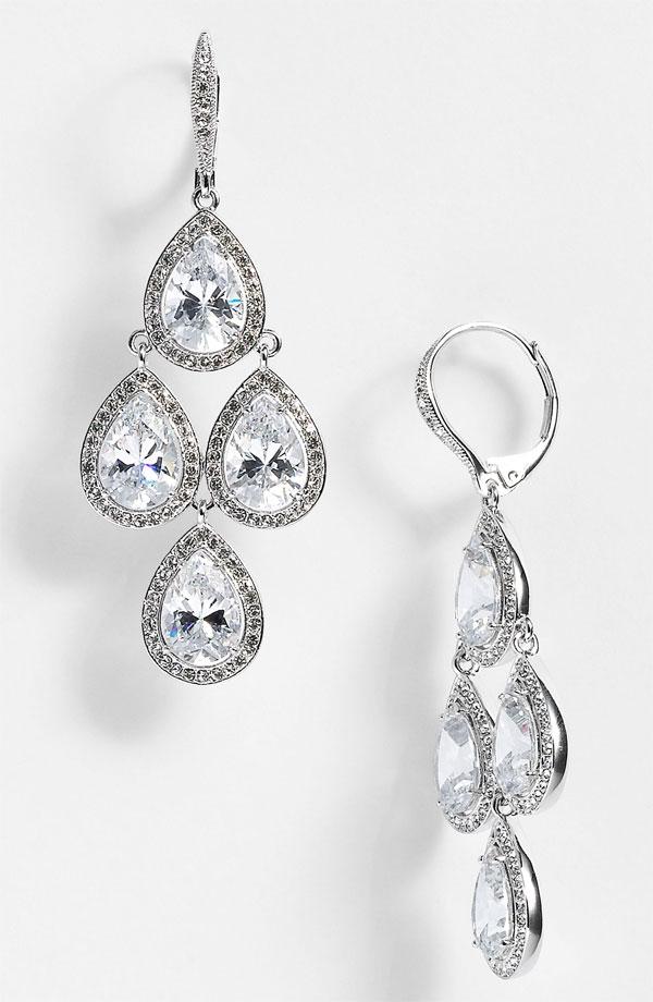 Chandelier Earrings - Bitsy Bride
