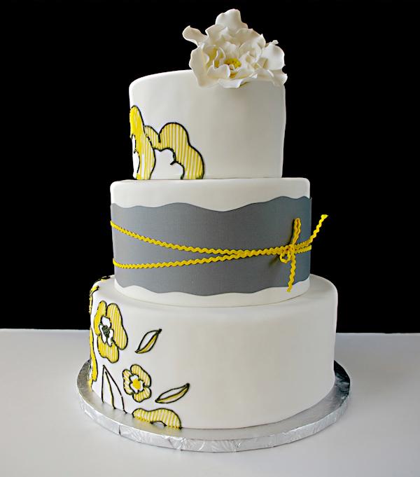 Yellow Wedding Cakes - Bitsy Bride