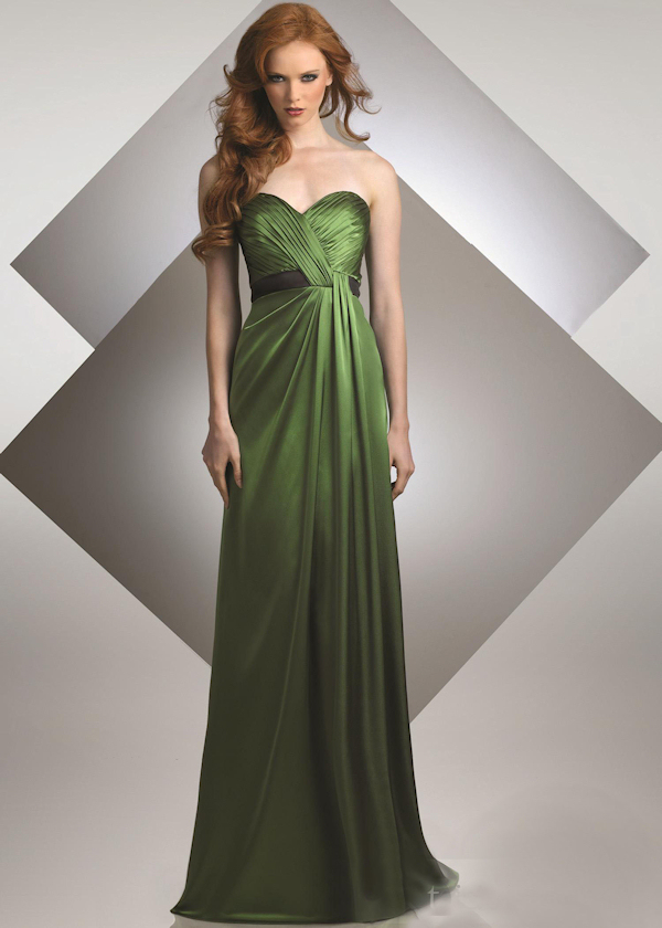 Cheap glamorous red column idiosyncratic floor length flat bridesmaid green wedding dresses