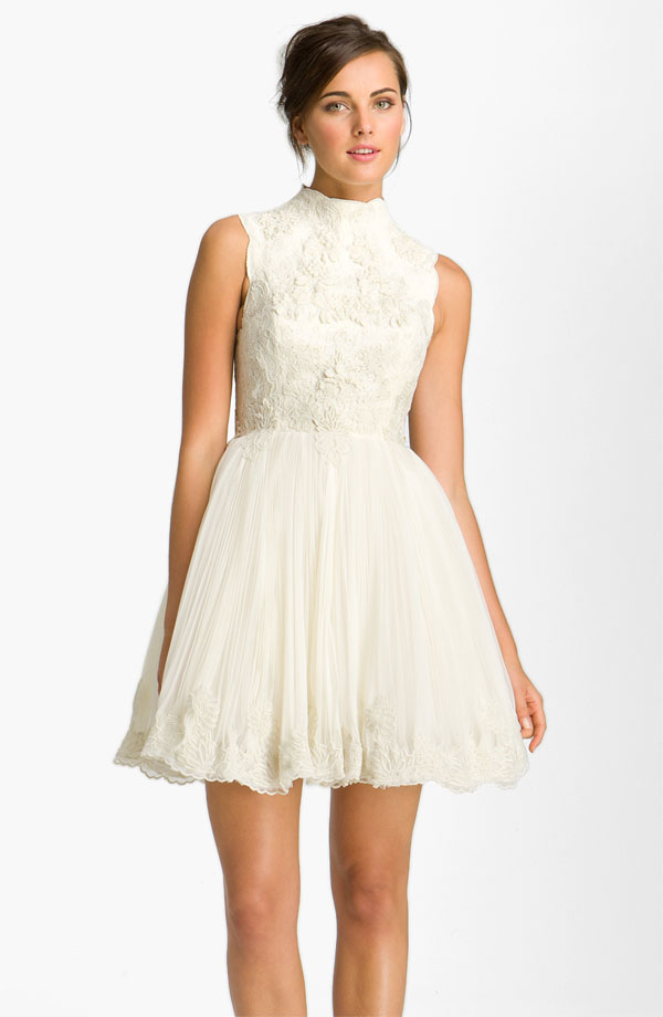 Hipster wedding dress bitsy bride for Cute dresses for a wedding reception