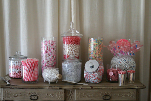 Pink Candy Buffets - Bitsy Bride