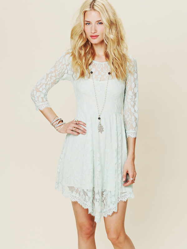 Short Hippie Wedding Dresses Boho Chic Lace Wedding Dress