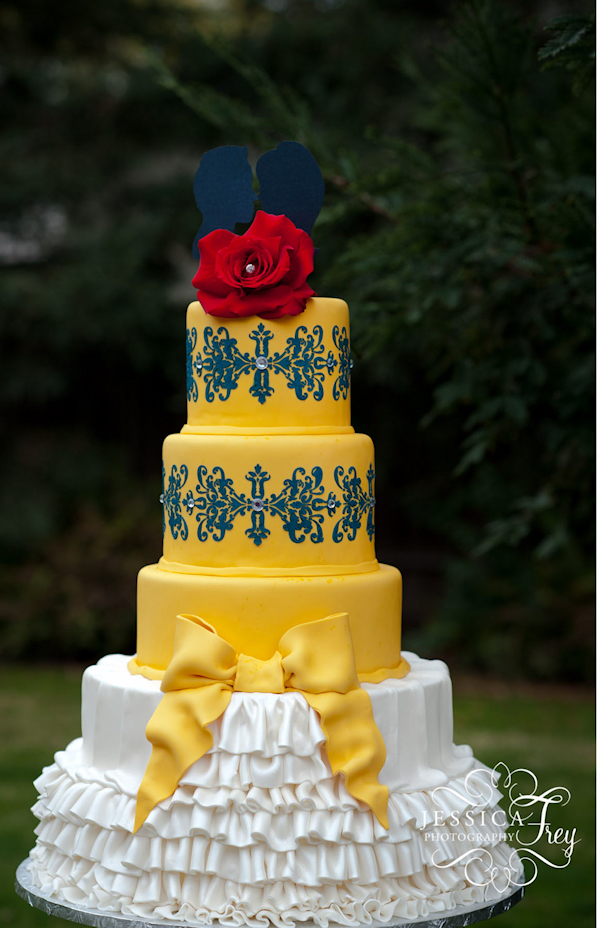 Yellow Wedding Cakes - Bitsy Bride
