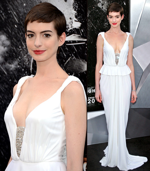 Anne Hathaway Wedding.Anne Hathaway S Wedding Dress Bitsy Bride