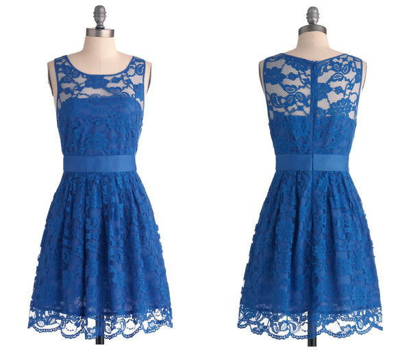 Pics for blue lace bridesmaids dresses for Blue lace wedding dress