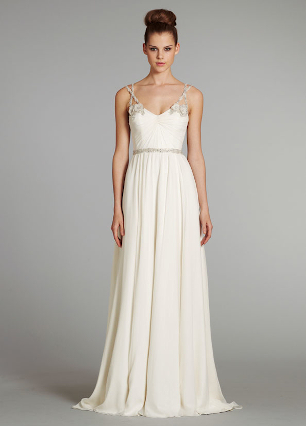 simple elegant wedding dress - Bitsy Bride