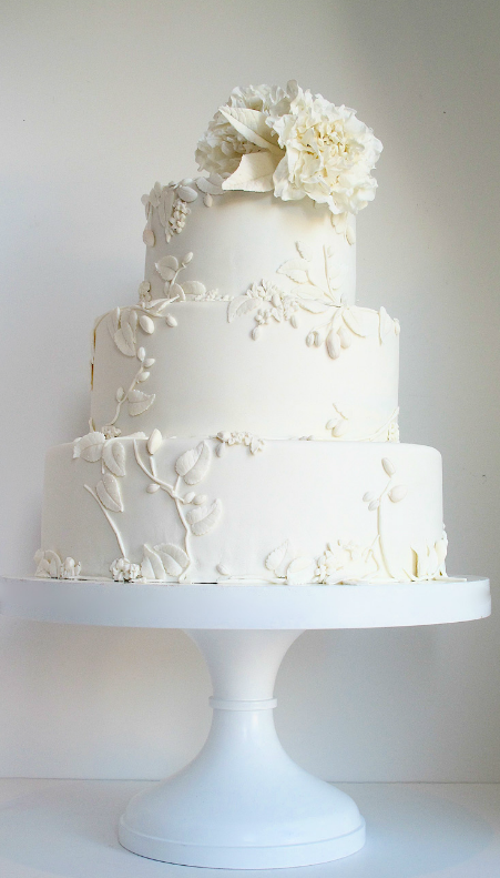 wedding cakes simple white simple white cake recipe dishmaps 25469