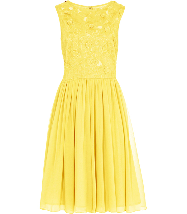 Yellow Strapless Ruched Bridesmaid DressYellow Strapless Bridesmaid Dresses