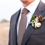 Brown Boutonnieres