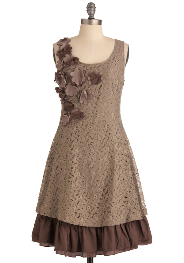 Brown Lace Bridesmaid Dresses Brown Bridesmaid Dress 0