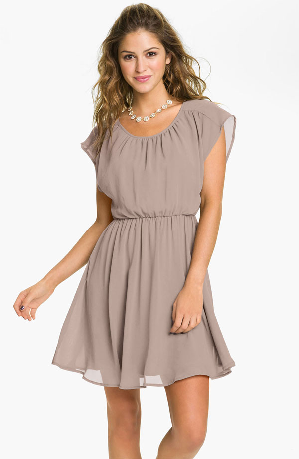 Light Brown Bridesmaid Dresses 49
