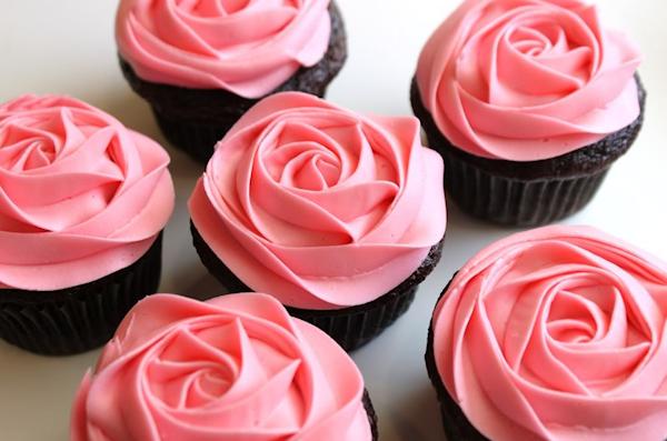 Pink Wedding Cupcakes Bitsy Bride