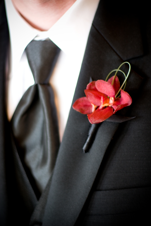 Red Boutonnieres - Bitsy Bride