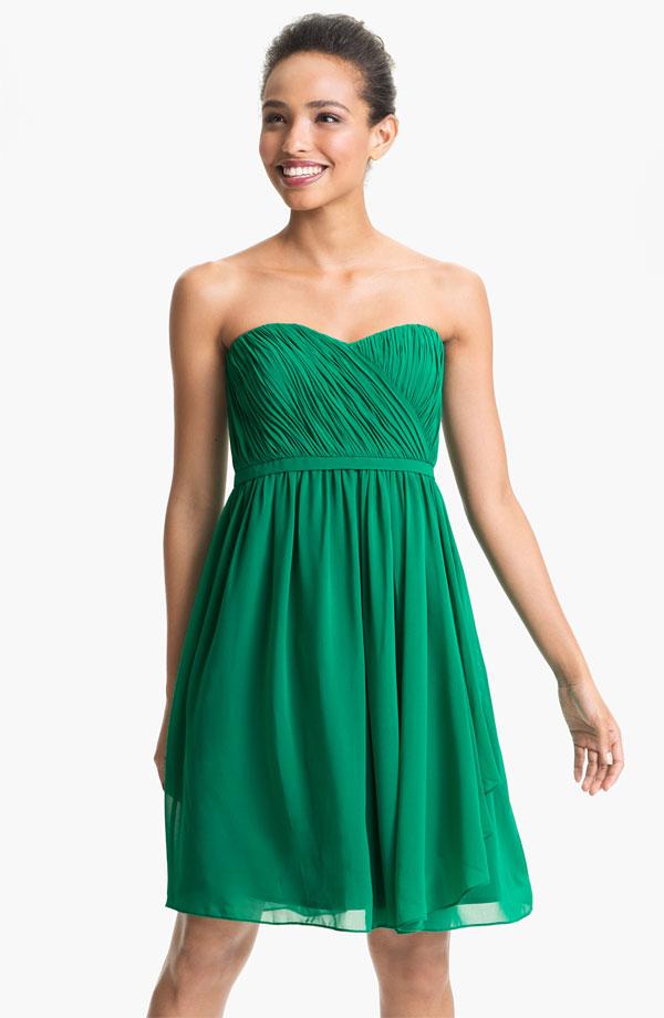 Green Bridesmaid Dresses Bitsy Bride