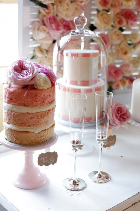 Vintage Wedding Cake Stands - Bitsy Bride