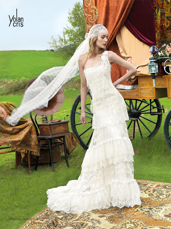 Vintage wedding dresses bitsy bride for Boho country wedding dress