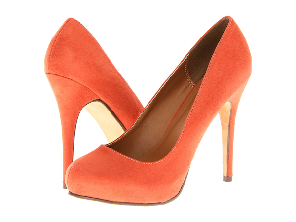 Orange Wedding Heels - Bitsy Bride