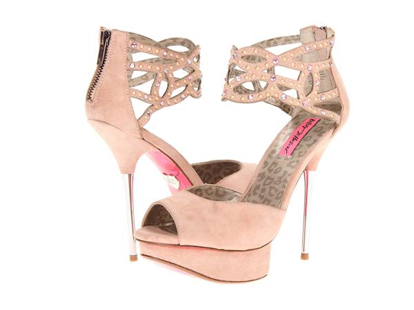 Pale Pink Wedding Shoes - Bitsy Bride
