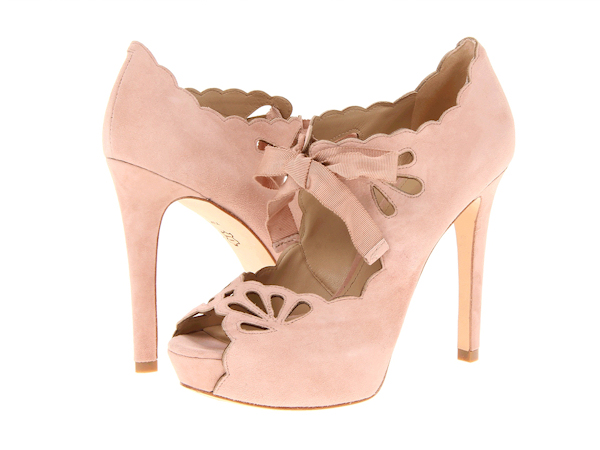 Awesome Pale Pink Wedding Heels