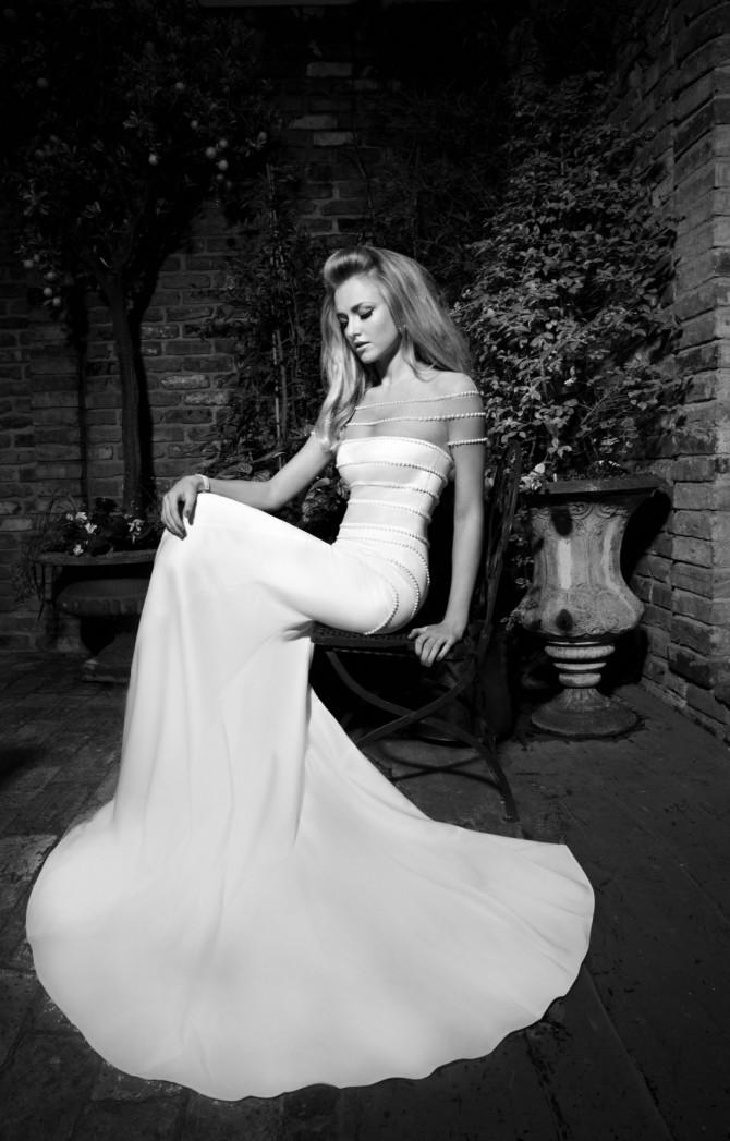 Simple Elegant Bridal Gown