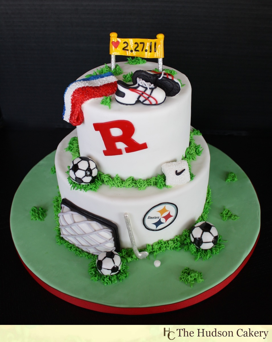 Rutgers Athletic Cake