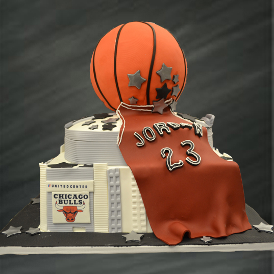 Jordan Fan Groom's Cake
