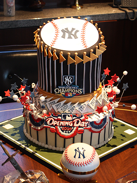 Yet Another Yankees Fan Groom's Cake