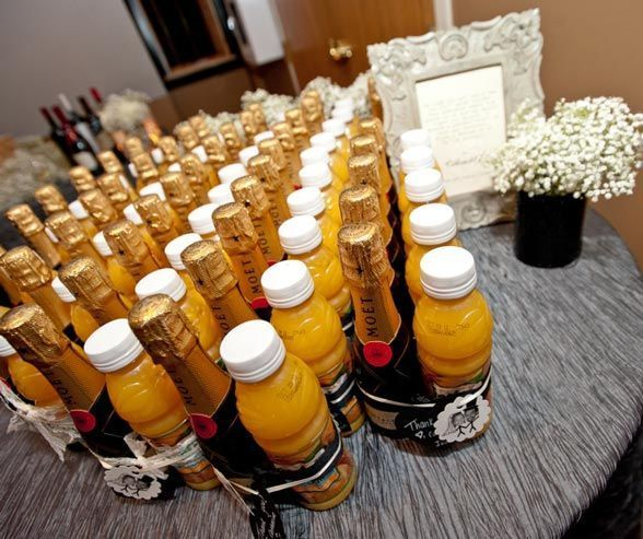 Mimosa Mix Wedding Favors