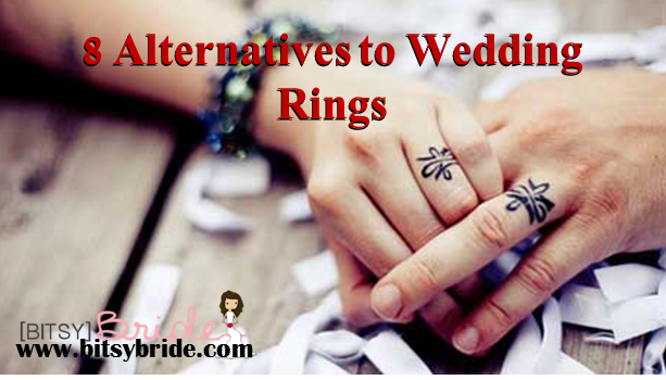8 alternatives to wedding rings - Alternative Wedding Rings