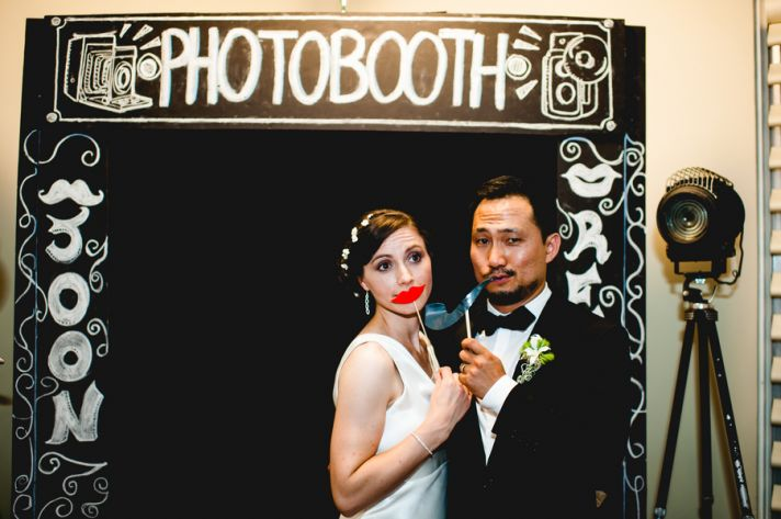 Rustic Elegant Wedding Photobooth Fun Full