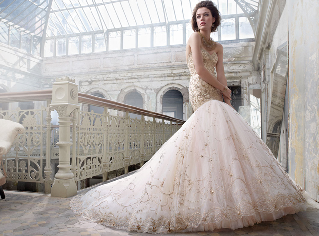 non-white-wedding-dress-blush-lazaro